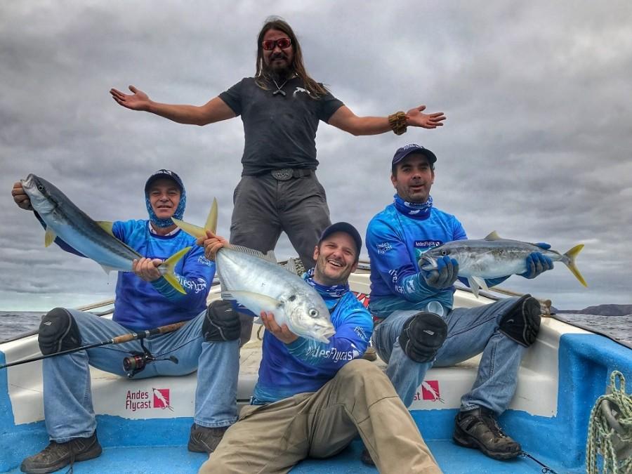 Charter de pesca La Robinson
