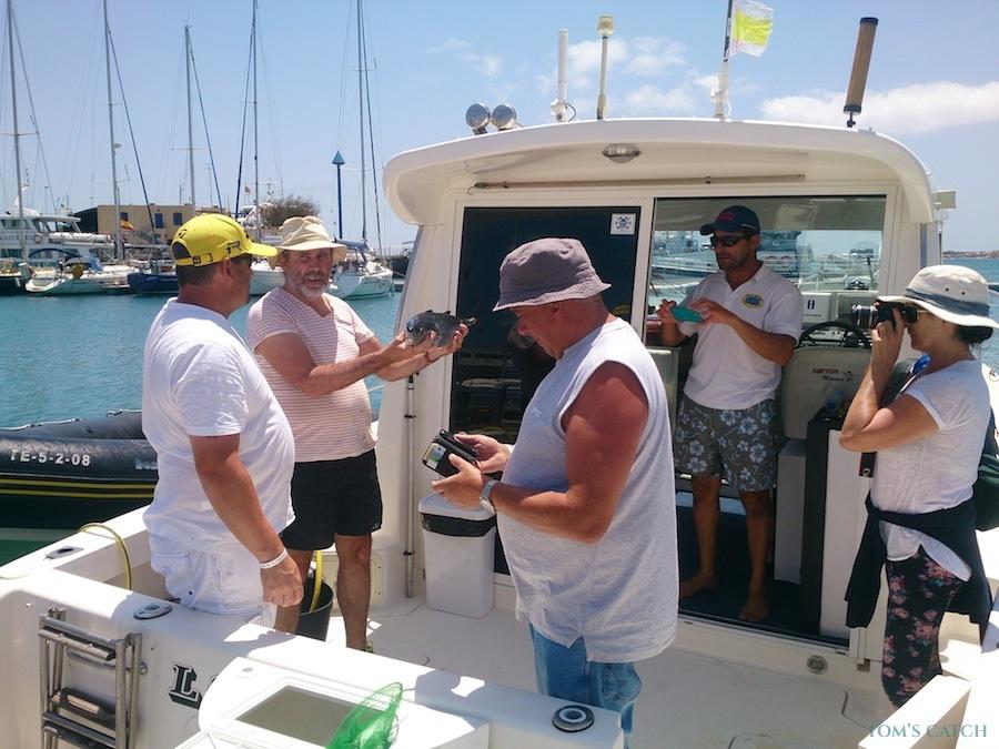 Charter de pesca Los Socios