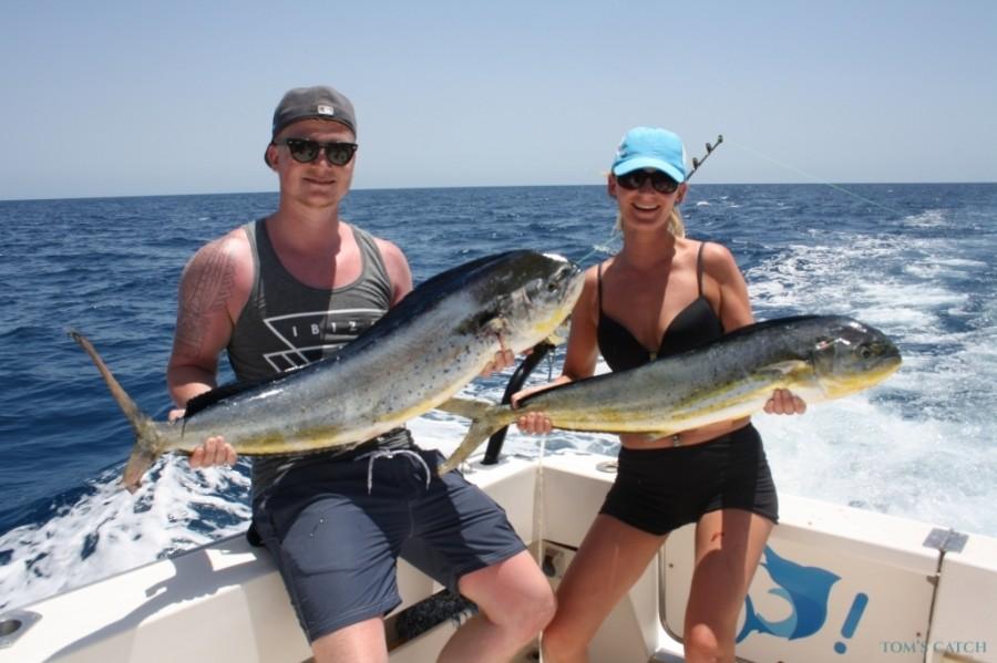 Charter de pesca Mar del Sur