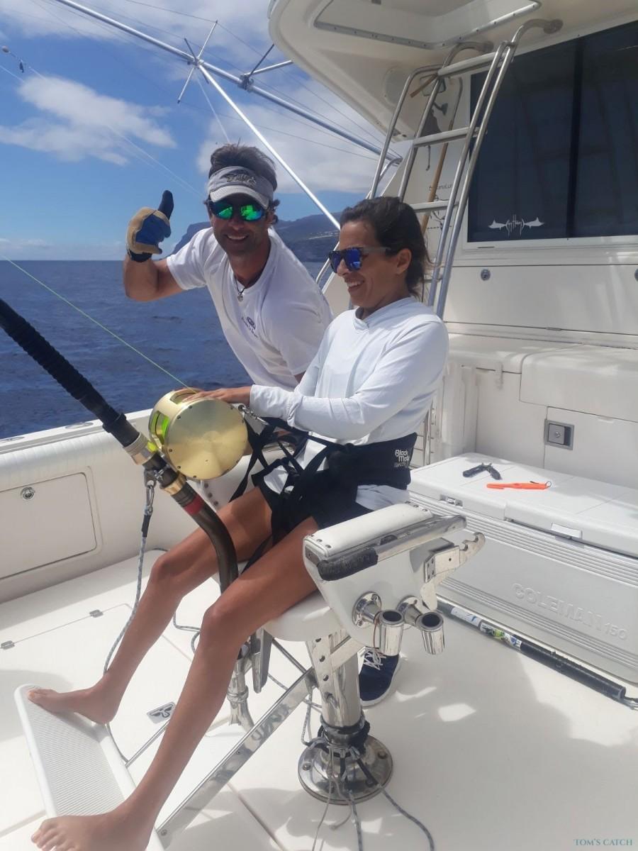 Charter de pesca Maynieves