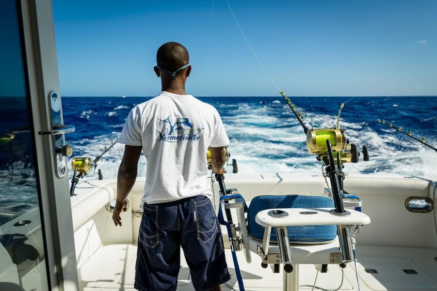 Charter de pesca Moana 1