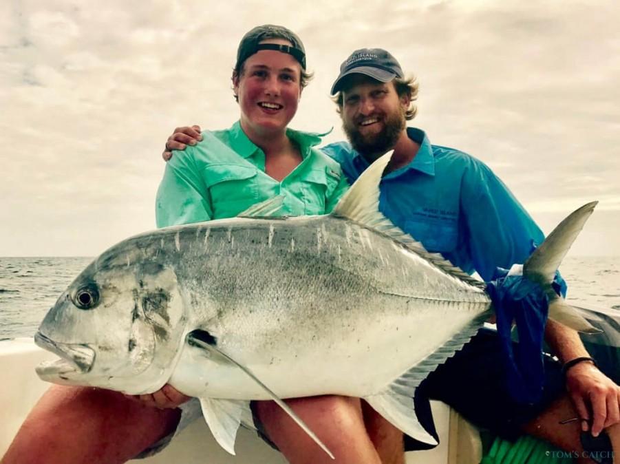 Charter de pesca Nguru