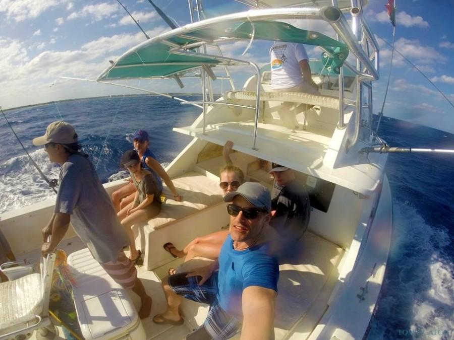 Charter de pesca Perla