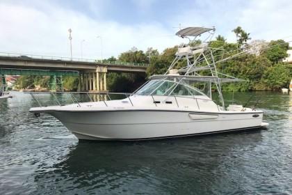 Charter de pesca Rampage 38