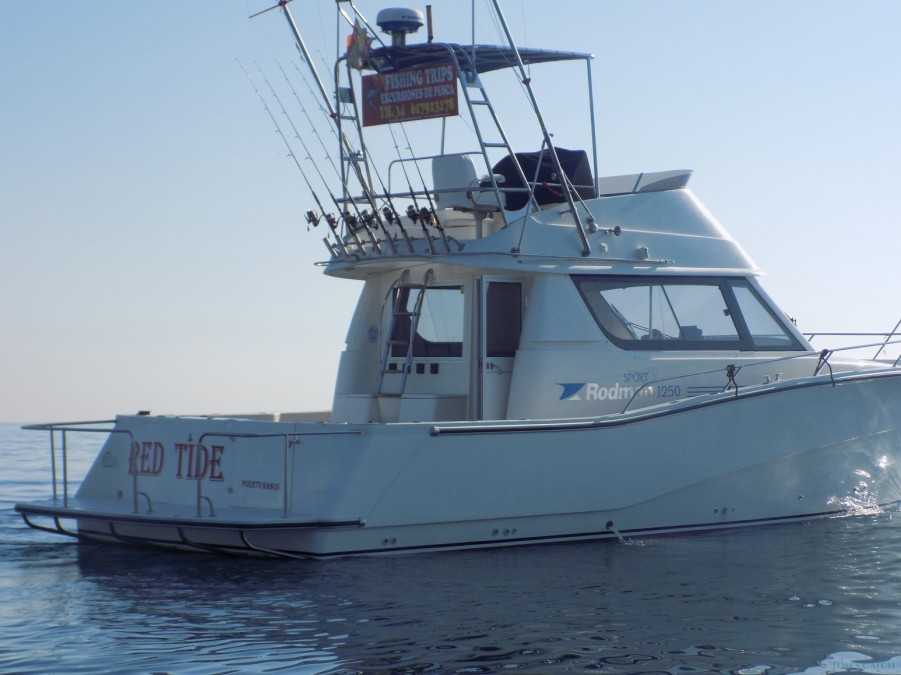 Charter de pesca Red Tide