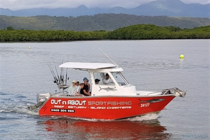 Reel Escape Port Douglas pesca