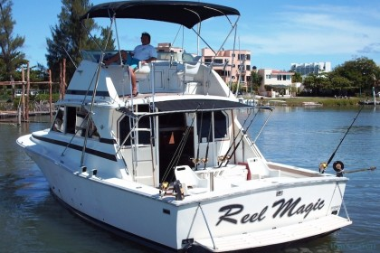 Charter de pesca Reel Magic