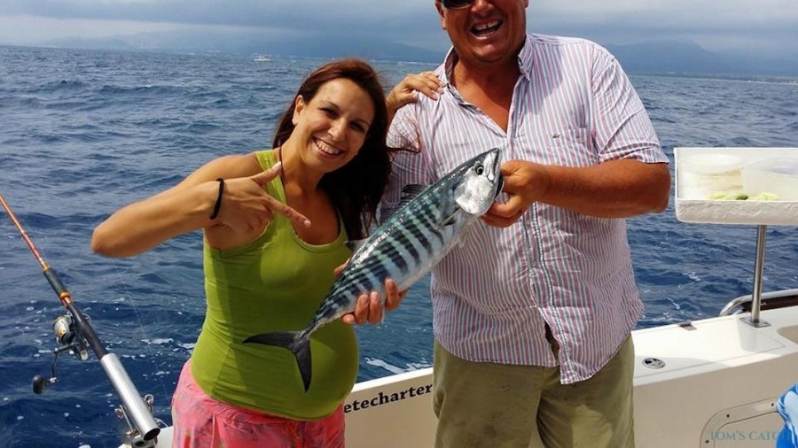 Charter de pesca Robalo 220