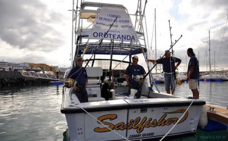 Charter de pesca Sailfisher II