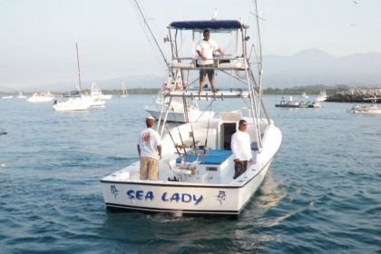 Sea Lady Quepos pesca