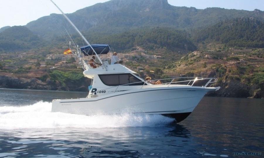 Charter de pesca Squitx