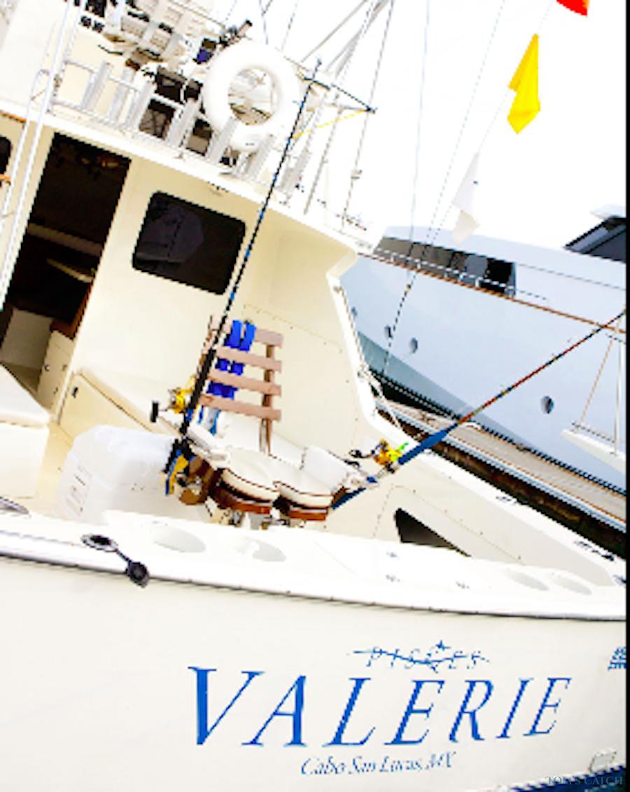 Charter de pesca Valerie