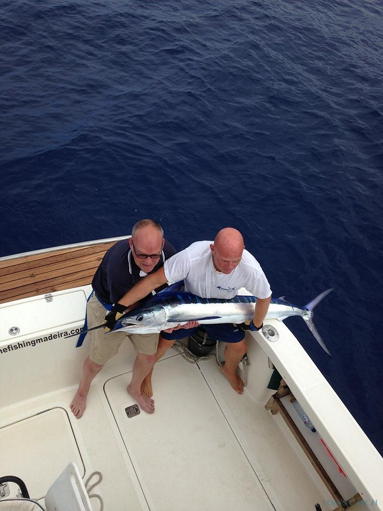Charter de pesca Xareu
