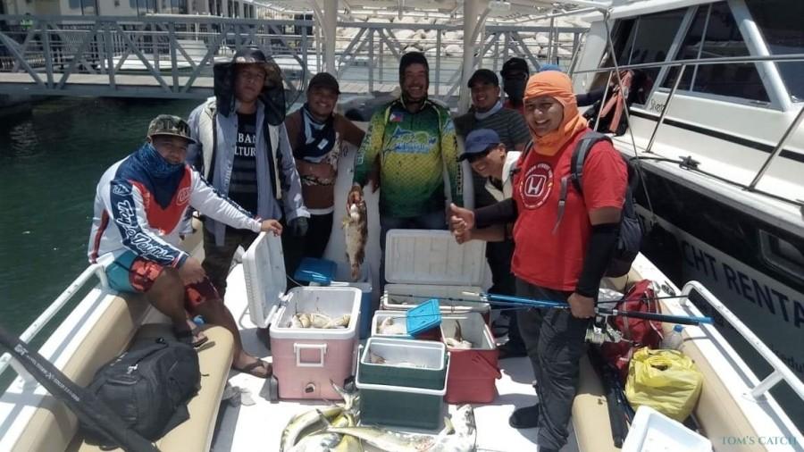Charter de pesca Zizal