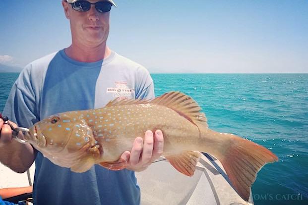 Pesca de Coral Trout