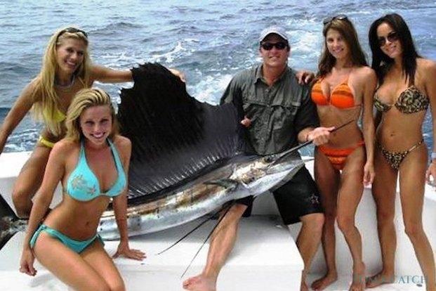 Segelfisch oder Fächerfisch fischen