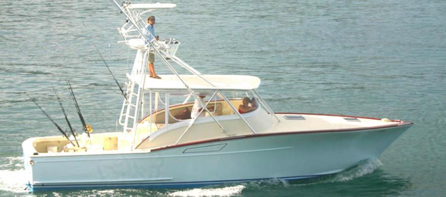 Fishing Charter 36 Custom Marcam