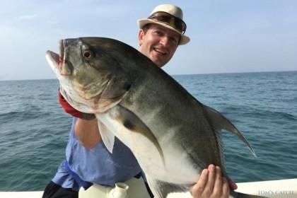 Ana  fishing