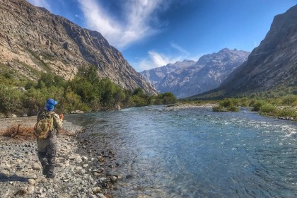 Andes FlyCast  fishing