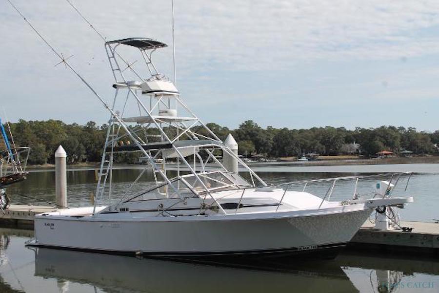 Fishing Charter Black Fin 40
