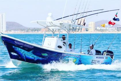 Blue Marlin II Mazatlan fishing