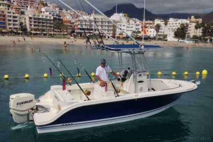 Cabracho Tenerife fishing