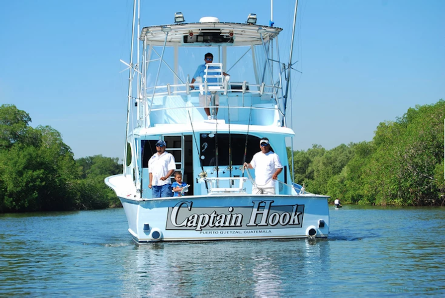 Fishing Charter Captain Hook