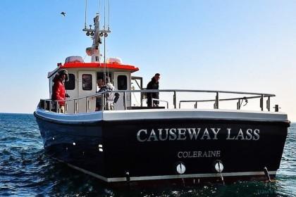 Causeway Lass  fishing