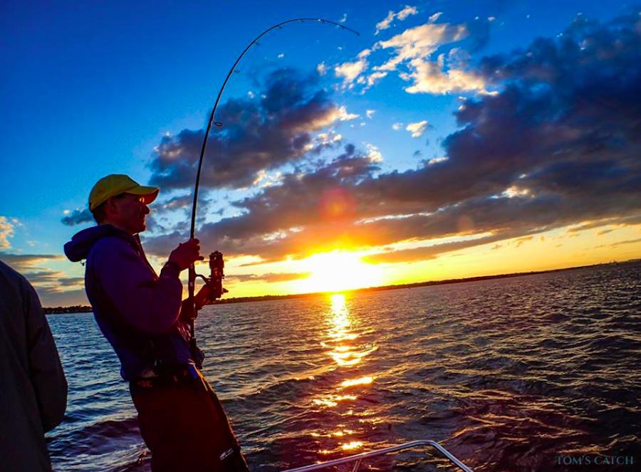 Fishing Charter Champagne Girl