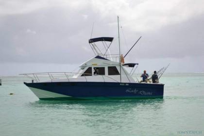 Club 1034 Lady Diana Mauritius fishing