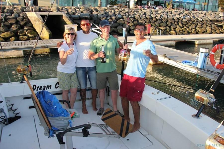 Fishing Charter Dream Catcher