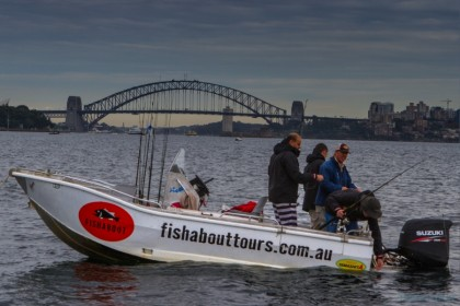 Fishabout Sydney fishing