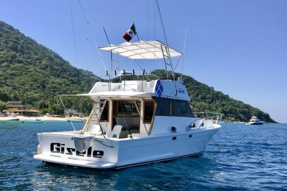 Gisele Puerto Vallarta fishing