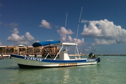 Juancho Playa del Carmen fishing