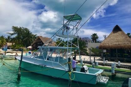 Lilly-M Riviera Maya fishing