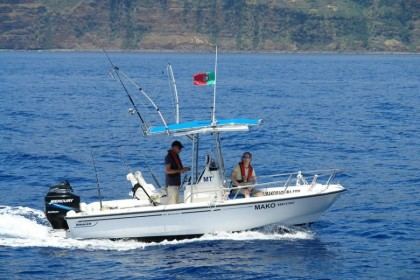 Mako Madeira fishing