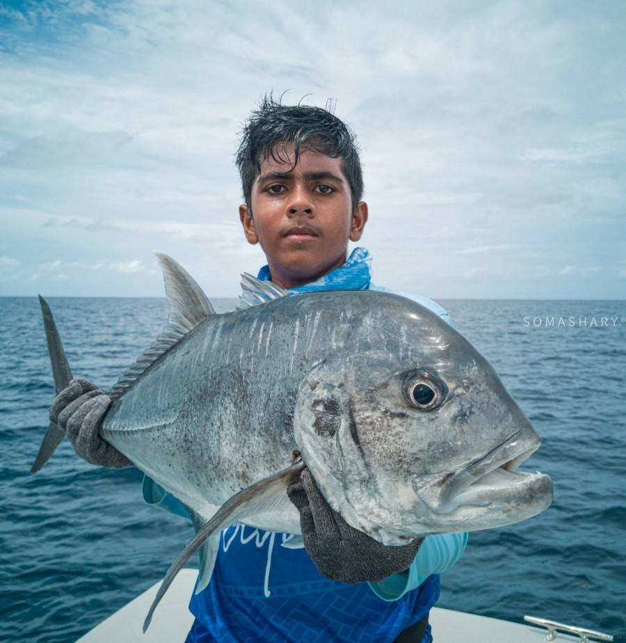 Maldives fishing zone