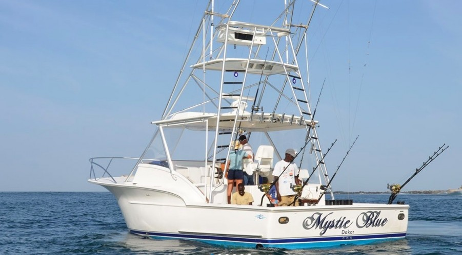 Fishing Charter Mystic Blue