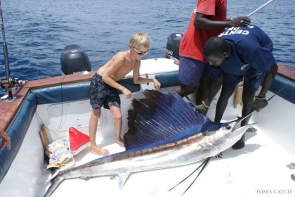 Pili pili  fishing