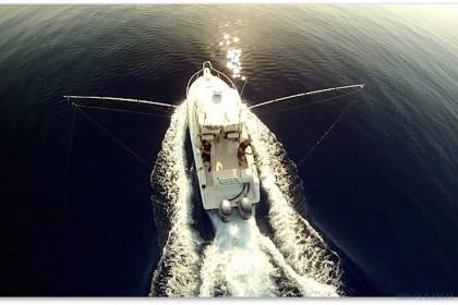 Pursuit 2570 Offshore Sardinia fishing