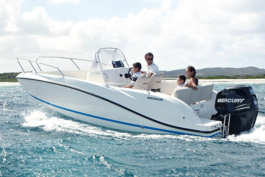 Fishing Charter QuickSilver 675 Activ