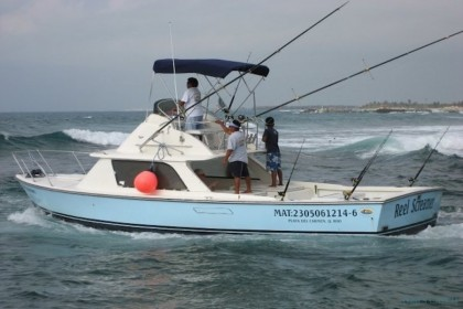 Reel Screamer Riviera Maya fishing