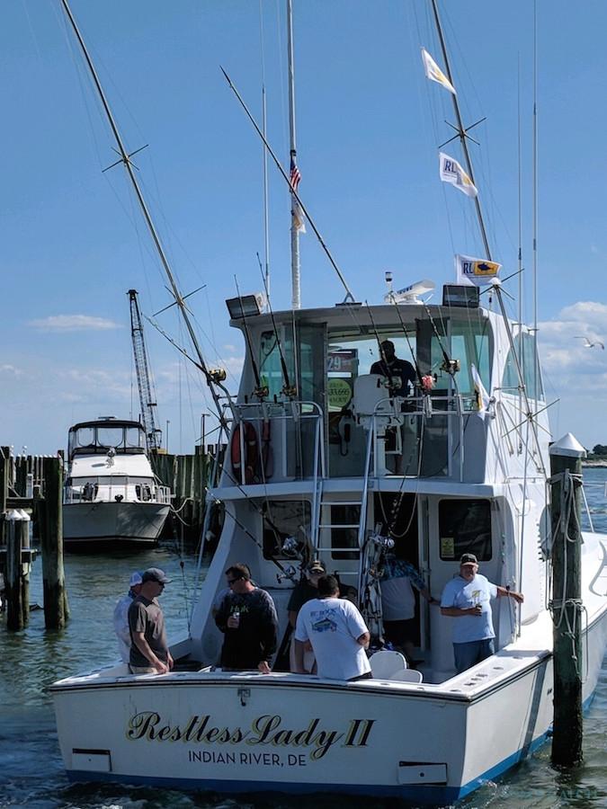Fishing Charter Restless Lady