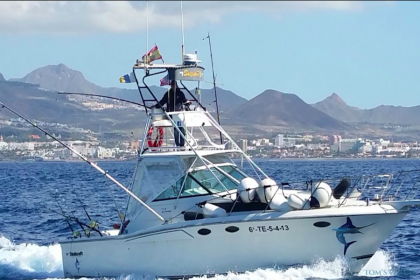 Sailfisher II Tenerife fishing