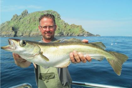 Sioux Ireland fishing
