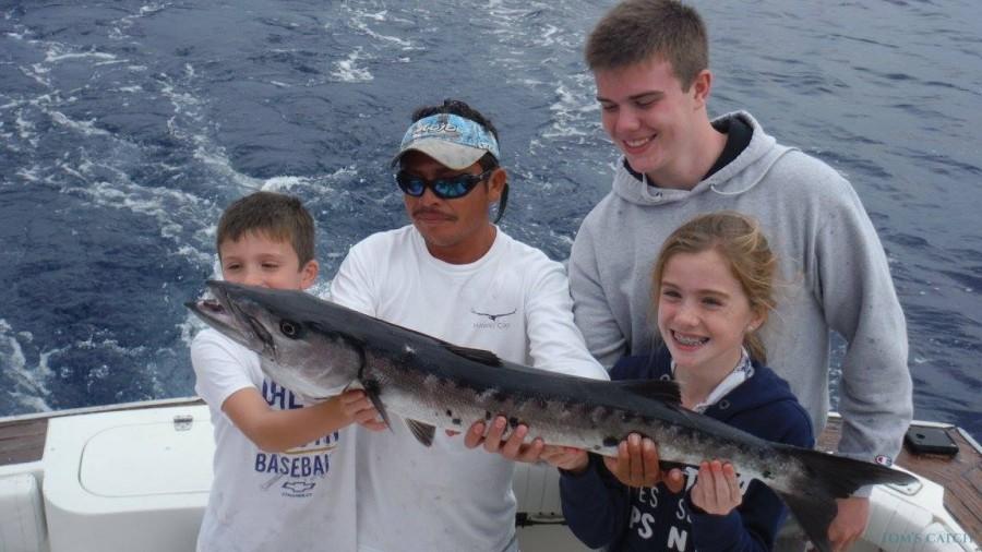 Fishing Charter Wasabi 45 Viking Express