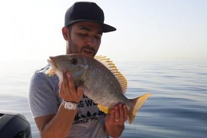 Zizal Dubai fishing