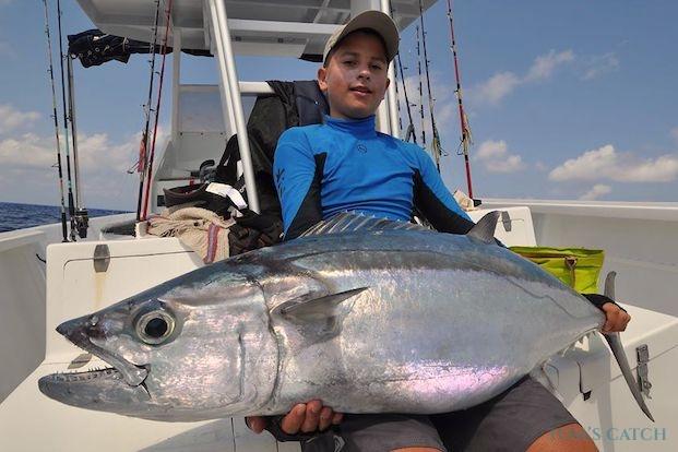 Dogtooth tuna fishing