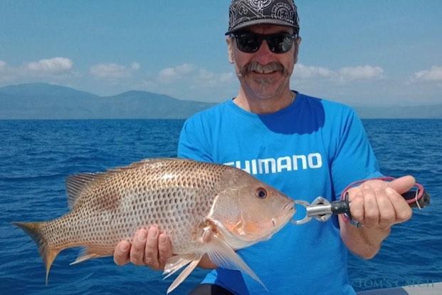 Fingermark bream fishing