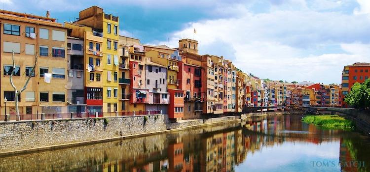 Girona fishing zone